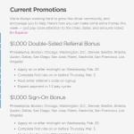 Lyft is offering a $1,000 New Driver Bonus